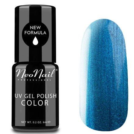 NeoNail, Гель-лак - Sapphire №3757 (6 мл.)NeoNail<br>Гель-лак, сапфировый, с шиммером, плотный<br>