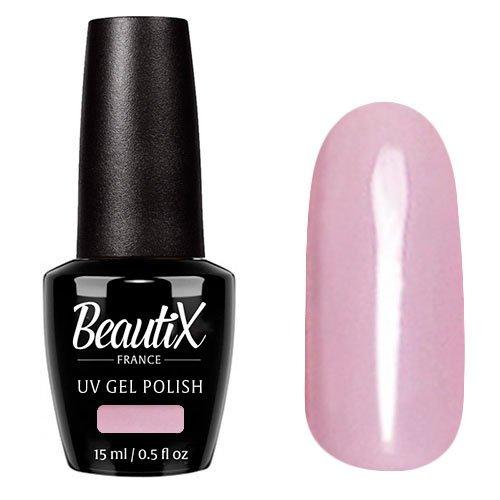 Beautix, Гель-лак №238 (15 мл.)Beautix<br>Гель-лак, светло-розовый, глянцевый, без блесток и перламутра, плотный<br>