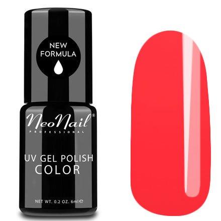 NeoNail, Гель-лак - Hot Samba №3764 (6 мл.)NeoNail<br>Гель-лак, красно-коралловый, глянцевый, без блесток и перламутра, плотный<br>