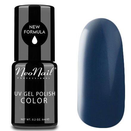 NeoNail, Гель-лак - Dark Graphite №3765 (6 мл.)NeoNail<br>Гель-лак, темный графитовый, глянцевый, без блесток и перламутра, плотный<br>