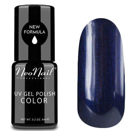 NeoNail, Гель-лак - Stormy Night №3769 (6 мл.)NeoNail<br>Гель-лак, чернильно-синий, глянцевый, с шиммером, плотный<br>