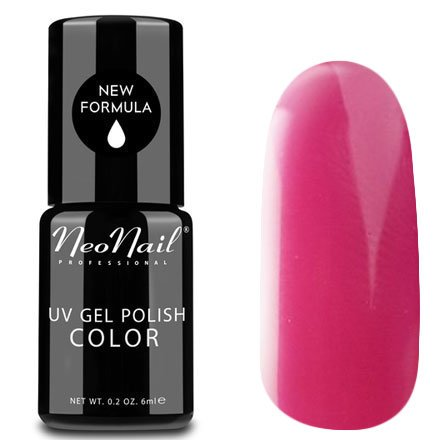 NeoNail, Гель-лак - Amaranth Rose №3772 (6 мл.)NeoNail<br>Гель-лак, амарантово-розовый, глянцевый, без блесток и перламутра, плотный<br>