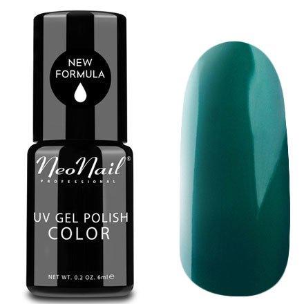 NeoNail, Гель-лак - Lush Green №3778 (6 мл.)NeoNail<br>Гель-лак, темно-зеленый, глянцевый, без блесток и перламутра, плотный<br>