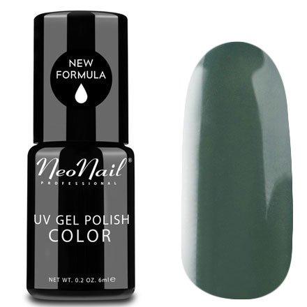 NeoNail, Гель-лак - Dirty Green №3779 (6 мл.)NeoNail<br>Гель-лак, грязно-зеленый, глянцевый, без блесток и перламутра, плотный<br>