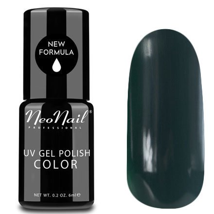 NeoNail, Гель-лак - Lady Green №3780 (6 мл.)NeoNail<br>Гель-лак, зеленый, глянцевый, без блесток и перламутра, плотный<br>