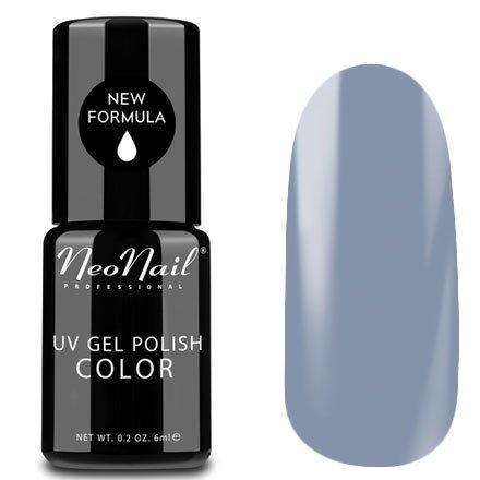 NeoNail, Гель-лак - Silver Grey №3783 (6 мл.)NeoNail<br>Гель-лак, серо-сиреневый, глянцевый, без блесток и перламутра, плотный<br>