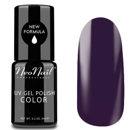 NeoNail, Гель-лак - Purple Decade №3785 (6 мл.)NeoNail<br>Гель-лак, пурпурный, глянцевый, без блесток и перламутра, плотный<br>