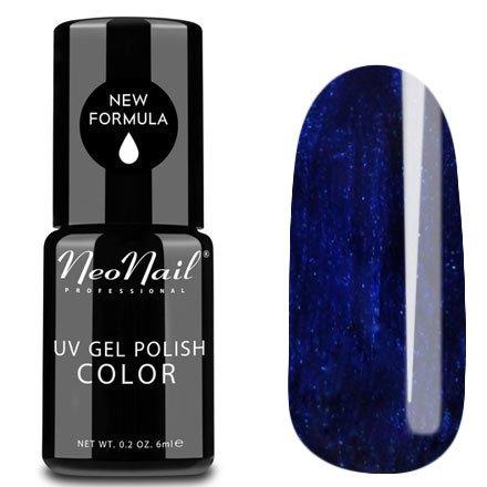 NeoNail, Гель-лак - Deep Navy №3789 (6 мл.)NeoNail<br>Гель-лак, синий, глянцевый, с шиммером, плотный<br>