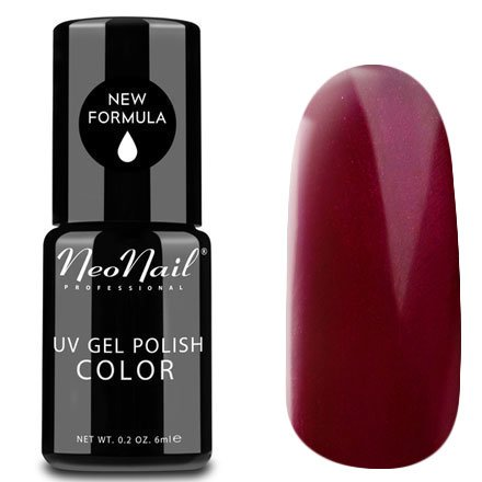 NeoNail, Гель-лак - Ripe Cherry №3790 (6 мл.)NeoNail<br>Гель-лак, спелая вишня, глянцевый, без блесток и перламутра, плотный<br>