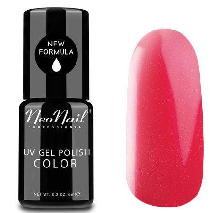 NeoNail, Гель-лак - Crazy Red №3791 (6 мл.)NeoNail<br>Гель-лак, спелая клубника, глянцевый, с перламутром, плотный<br>