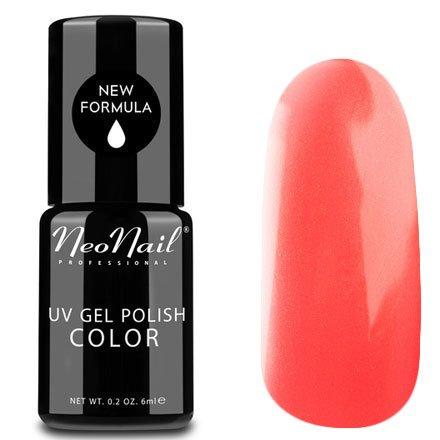 NeoNail, Гель-лак - Crazy Coral №3792 (6 мл.)NeoNail<br>Гель-лак, коралловый, глянцевый, без блесток и перламутра, плотный<br>