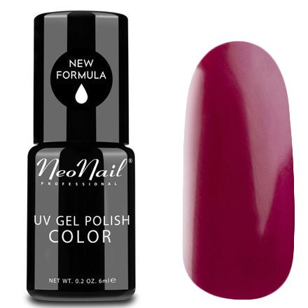 NeoNail, Гель-лак - Purple Flirt №3793 (6 мл.)NeoNail<br>Гель-лак, пурпурно-красный, глянцевый, с шиммером, плотный<br>