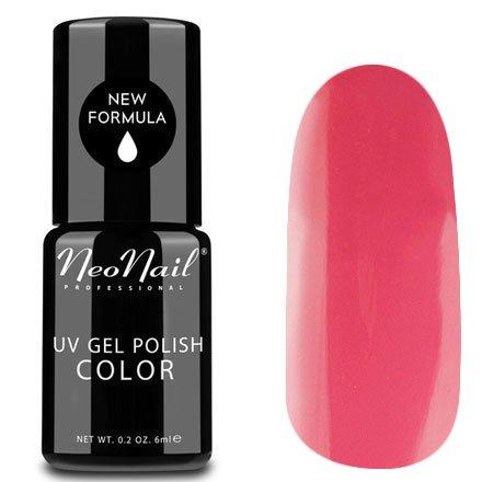 NeoNail, Гель-лак - Flying Flaming №3860 (6 мл.)NeoNail<br>Гель-лак, розовый фламинго, глянцевый, без блесток и перламутра, плотный<br>