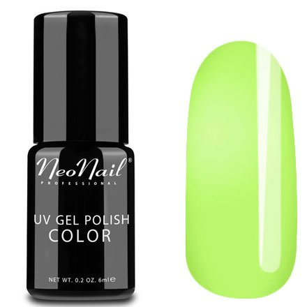 NeoNail, Гель-лак - Juicy Lime №3862 (6 мл.)NeoNail<br>Гель-лак, лаймовый, глянцевый, без блесток и перламутра, плотный<br>