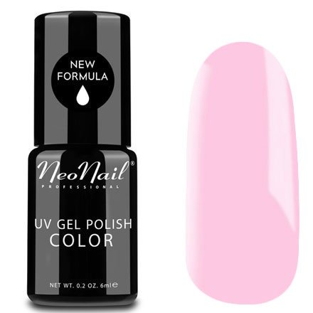 NeoNail, Гель-лак - Pink Pudding №4627 (6 мл.)NeoNail<br>Гель-лак, светлый розовый, глянцевый, без блесток и перламутра, плотный<br>