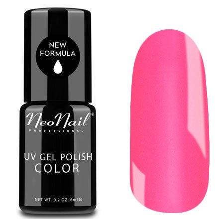 NeoNail, Гель-лак - Rock Girl №4630 (6 мл.)NeoNail<br>Гель-лак, яркий розовый, глянцевый, без блесток и перламутра, плотный<br>