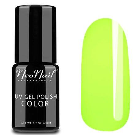NeoNail, Гель-лак - Yellow Energy №4631 (6 мл.)NeoNail<br>Гель-лак, кислотный желтый, глянцевый, без блесток и перламутра, плотный<br>
