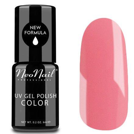 NeoNail, Гель-лак - Barbie №4633 (6 мл.)NeoNail<br>Гель-лак, розовый барби, глянцевый, без блесток и перламутра, плотный<br>