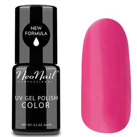 NeoNail, Гель-лак - Sweet Muffin №4636 (6 мл.)NeoNail<br>Гель-лак, розовый, глянцевый, без блесток и перламутра, плотный<br>