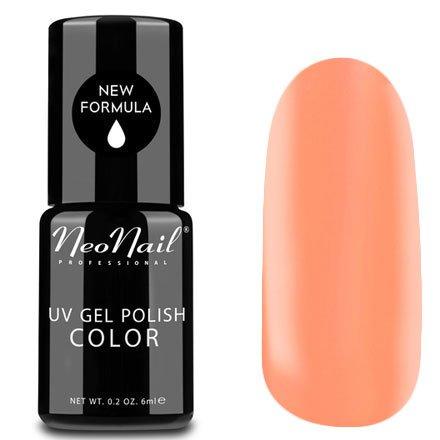 NeoNail, Гель-лак - Ramla Bay №4802 (6 мл.)NeoNail<br>Гель-лак, персиковый, глянцевый, без блесток и перламутра, плотный<br>
