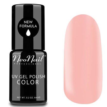 NeoNail, Гель-лак - Lotus Flower №4806 (6 мл.)NeoNail<br>Гель-лак, нежный розовый, глянцевый, без блесток и перламутра, плотный<br>