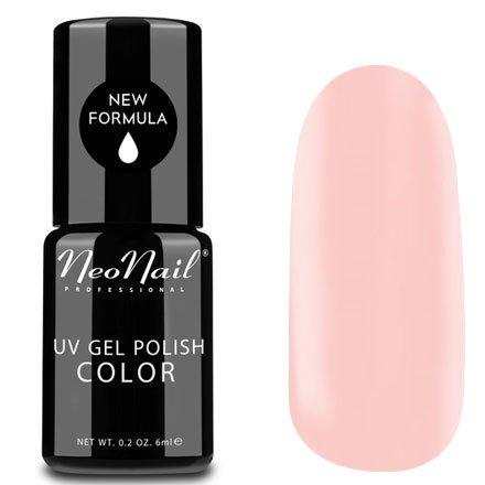 NeoNail, Гель-лак - Perfect Rose №4807 (6 мл.)NeoNail<br>Гель-лак, бледно-розовый, глянцевый, без блесток и перламутра, плотный<br>