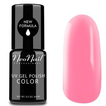 NeoNail, Гель-лак - Madame Butterfly №4813 (6 мл.)NeoNail<br>Гель-лак, розовый, глянцевый, без блесток и перламутра, плотный<br>
