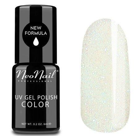 NeoNail, Гель-лак - Mystic Mermaid №4818 (6 мл.)NeoNail<br>Гель-лак, полупрозрачный, с белым подтоном и зеленоватыми блестками<br>