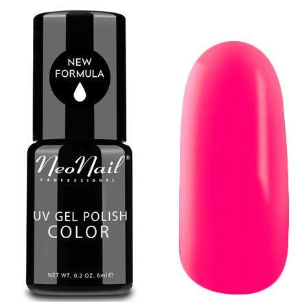 NeoNail, Гель-лак - My Lolita №4821 (6 мл.)NeoNail<br>Гель-лак, неоново-малиновый, глянцевый, без блесток и перламутра, плотный<br>