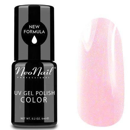 NeoNail, Гель-лак - Wedding Princess №4826 (6 мл.)NeoNail<br>Гель-лак, нежно-розовый, глянцевый, с блестками, плотный<br>