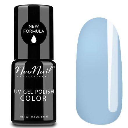 NeoNail, Гель-лак - Blue Tide №4827 (6 мл.)NeoNail<br>Гель-лак, голубой, глянцевый, без блесток и перламутра, плотный<br>