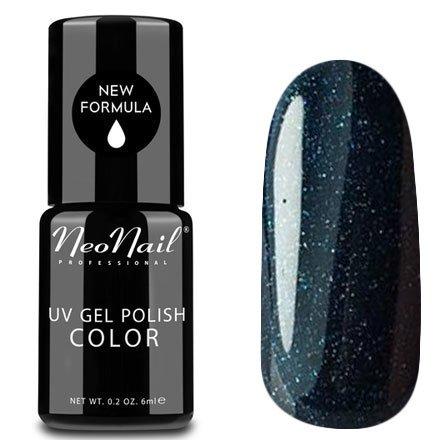 NeoNail, Гель-лак - Diamond Green №4905 (6 мл.)NeoNail<br>Гель-лак, космический чернильно-зеленый, глянцевый, с блестками, плотный<br>