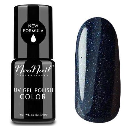 NeoNail, Гель-лак - Spacewalk №4906 (6 мл.)NeoNail<br>Гель-лак, космический чернильно-синий, глянцевый, с блестками, плотный<br>