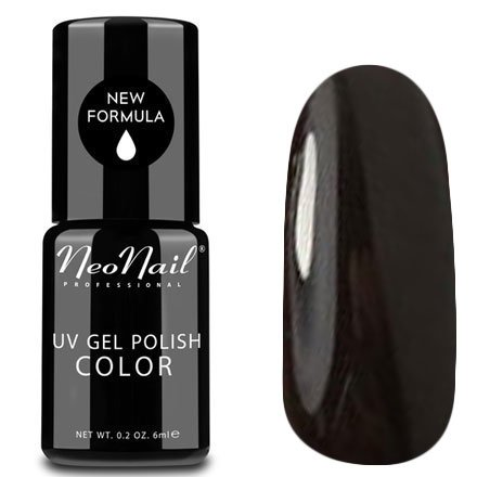 NeoNail, Гель-лак - Bitter Chocolate №4910 (6 мл.)NeoNail<br>Гель-лак, горький шоколад, глянцевый, без блесток и перламутра, плотный<br>