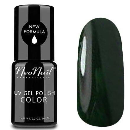 NeoNail, Гель-лак - Bottle Emerald №4911 (6 мл.)NeoNail<br>Гель-лак, темно-зеленый, глянцевый, без блесток и перламутра, плотный<br>