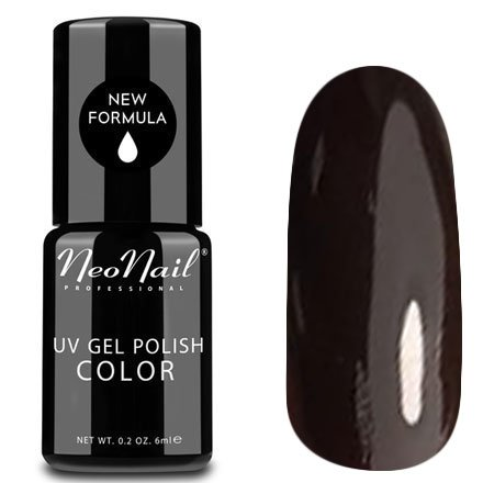 NeoNail, Гель-лак - Crystal Violet №4913 (6 мл.)NeoNail<br>Гель-лак, шоколадный, глянцевый, без блесток и перламутра, плотный<br>