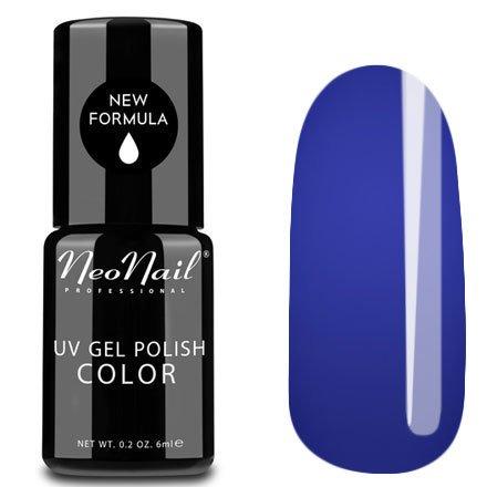NeoNail, Гель-лак - Ultramarine №4914 (6 мл.)NeoNail<br>Гель-лак, ультрамарин, глянцевый, без блесток и перламутра, плотный<br>