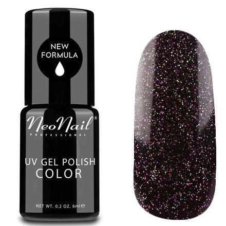 NeoNail, Гель-лак - Orion №5006 (6 мл.)NeoNail<br>Гель-лак, коричнево-бордовый, глянцевый, с блестками, плотный<br>
