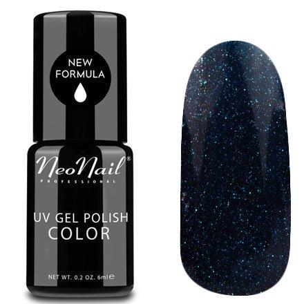 NeoNail, Гель-лак - Cepheus №5010 (6 мл.)NeoNail<br>Гель-лак, синий, глянцевый, с блестками, плотный<br>