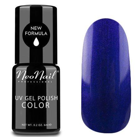 NeoNail, Гель-лак - Alluring Neptune №5017 (6 мл.)NeoNail<br>Гель-лак, синий, глянцевый, с перламутром, плотный<br>
