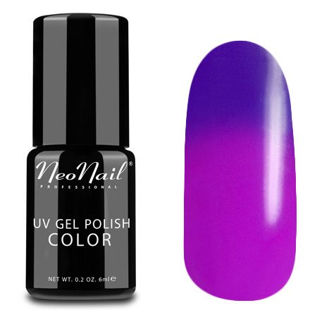 NeoNail, Термогель-лак - Purple Bunny №5189 (6 мл.)NeoNail<br>Термогель-лак, пурпурный/розовая фуксия, без блесток и перламутра, плотный<br>