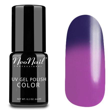 NeoNail, Термогель-лак - Purple Rain №5190 (6 мл.)NeoNail<br>Термогель-лак, пурпурный/лиловый, без блесток и перламутра, плотный<br>