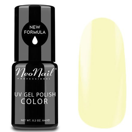 NeoNail, Гель-лак - Banana Smoothie №5251 (6 мл.)NeoNail<br>Гель-лак, пастельный бананово-желтый, глянцевый, без блесток и перламутра, плотный<br>