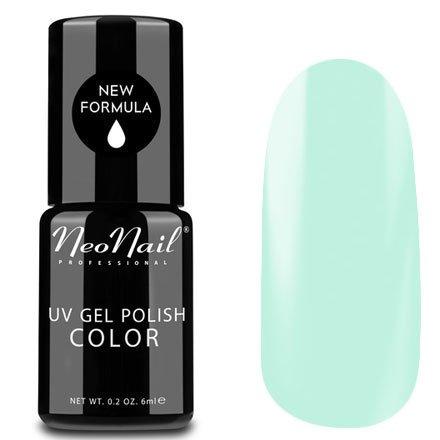NeoNail, Гель-лак - Pistachio Ice №5253 (6 мл.)NeoNail<br>Гель-лак, пастельный оттенок фисташковое мороженое, глянцевый, без блесток и перламутра, плотный<br>