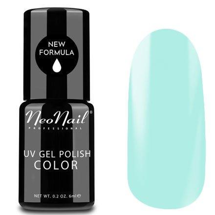 NeoNail, Гель-лак - Kiwi Sorbet №5254 (6 мл.)NeoNail<br>Гель-лак, пастельный голубой, глянцевый, без блесток и перламутра, плотный<br>