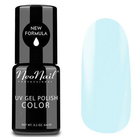 NeoNail, Гель-лак - Smurf Ice №5255 (6 мл.)NeoNail<br>Гель-лак, пастельный морозно-голубой, глянцевый, без блесток и перламутра, плотный<br>