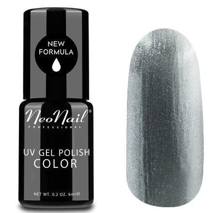 NeoNail, Гель-лак - Diamond Sky №3204 (6 мл.)NeoNail<br>Гель-лак, серебряный, с большим количеством мелкого шиммера, плотный<br>