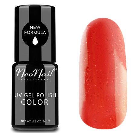 NeoNail, Гель-лак - Light Red №3214 (6 мл.)NeoNail<br>Гель-лак, светлый красный, с вкраплением блесток, плотный<br>