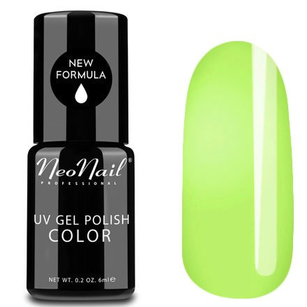 NeoNail, Гель-лак - Citrus Paradise №4809 (6 мл.)NeoNail<br>Гель-лак, цитрусовый, глянцевый, без блесток и перламутра, плотный<br>
