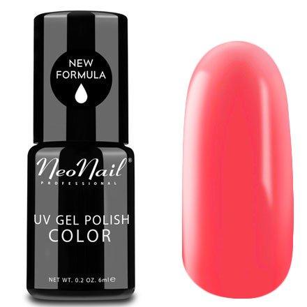 NeoNail, Гель-лак - Bermudas Party №4817 (6 мл.)NeoNail<br>Гель-лак, кораллово-розовый, глянцевый, без блесток и перламутра, плотный<br>